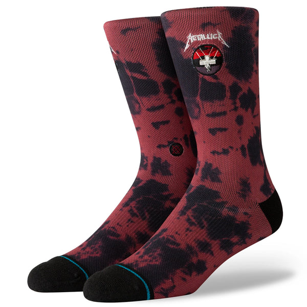 Master Of Puppets Socks - Red