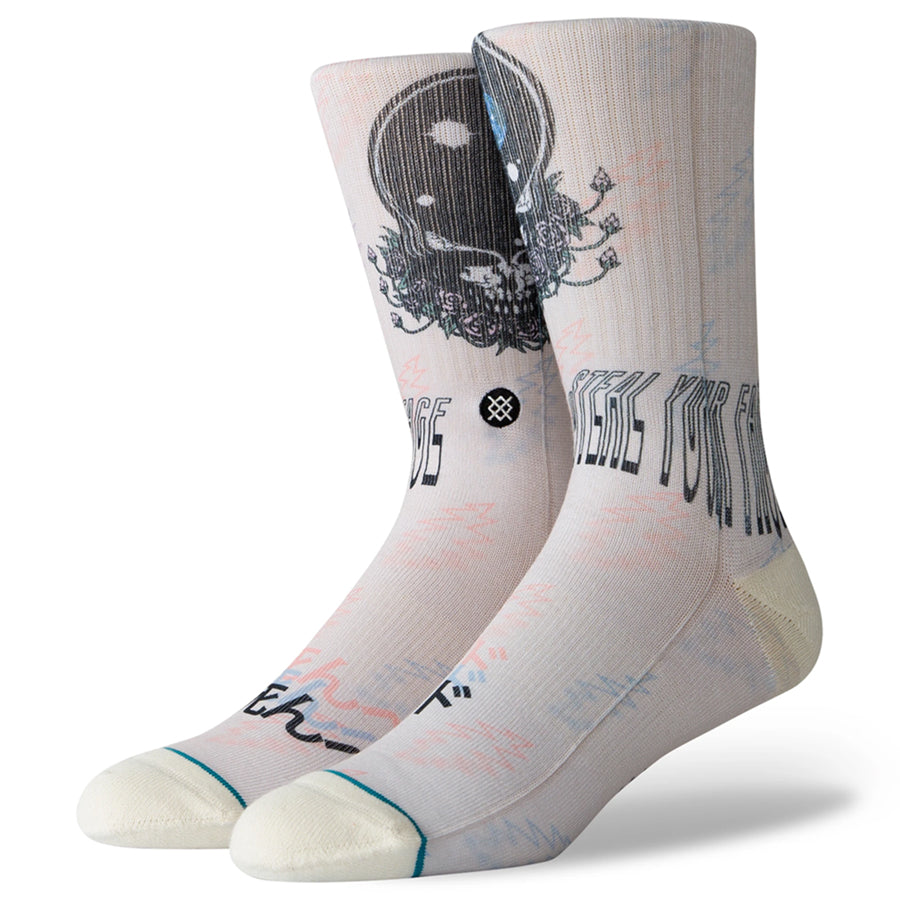 Steal Your Face Socks - Natural