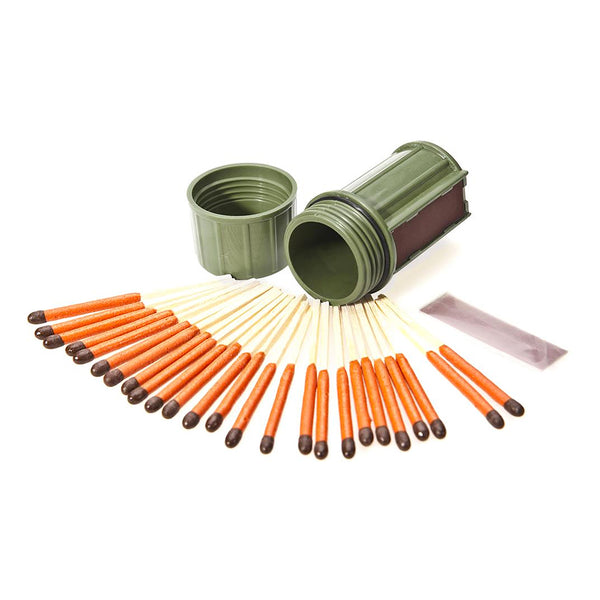 Stormproof Match Kit + 25 Matches - Green
