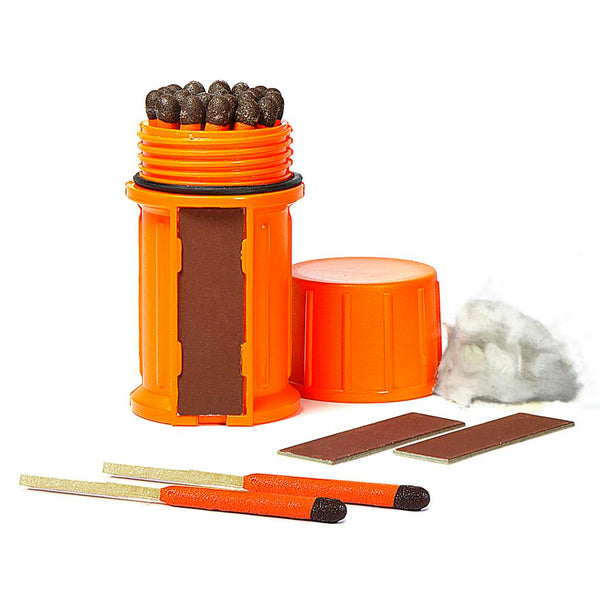Stormproof Match Kit + 25 Matches - Orange