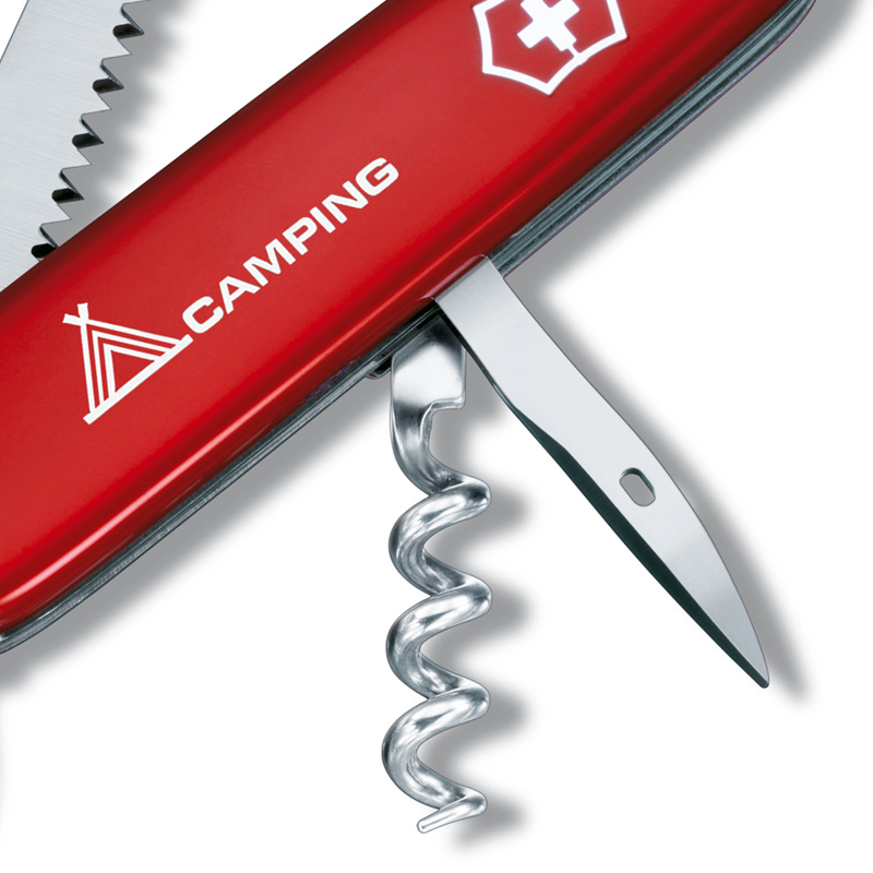 Camper Swiss Army Multitool - Red
