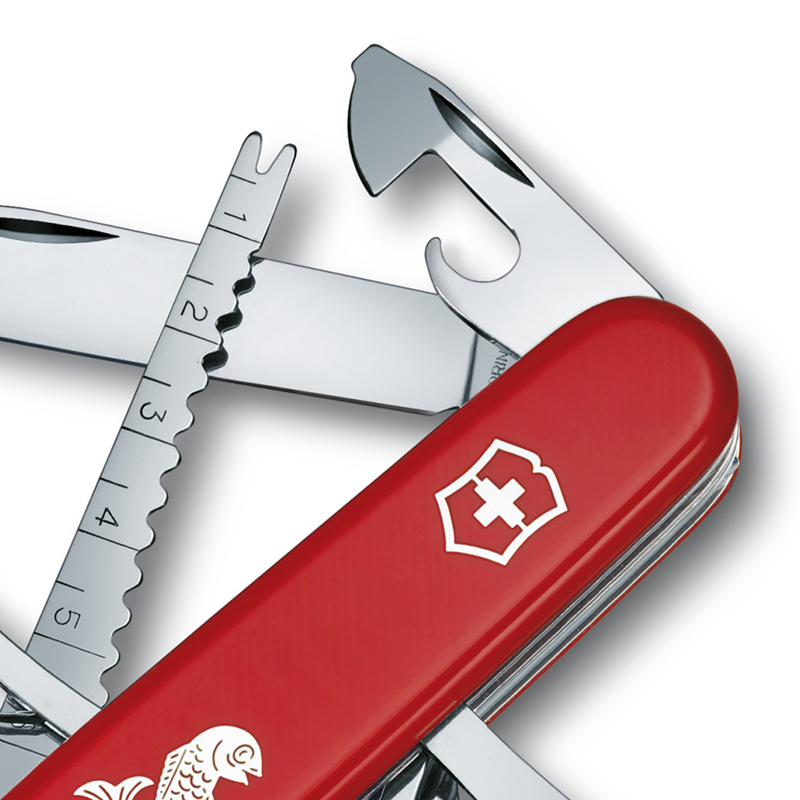 Fisherman Swiss Army Multitool - Red