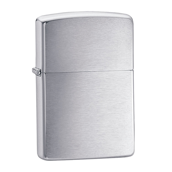 Regular Lighter - Brushed Chrome