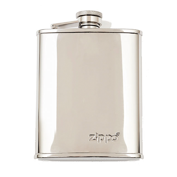 Hip Flask - Polished Steel