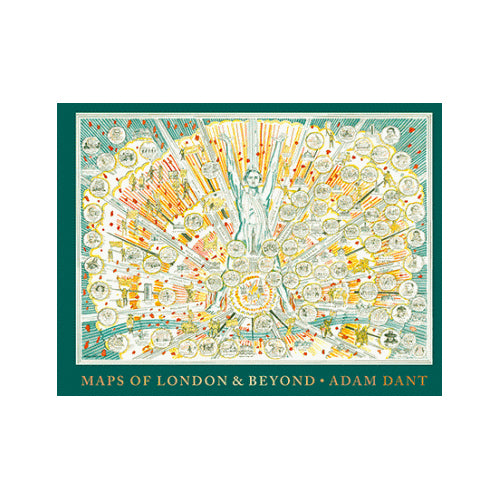 Maps of London and Beyond - Adam Dant