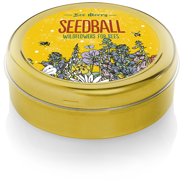 Seedball - Bee Merry
