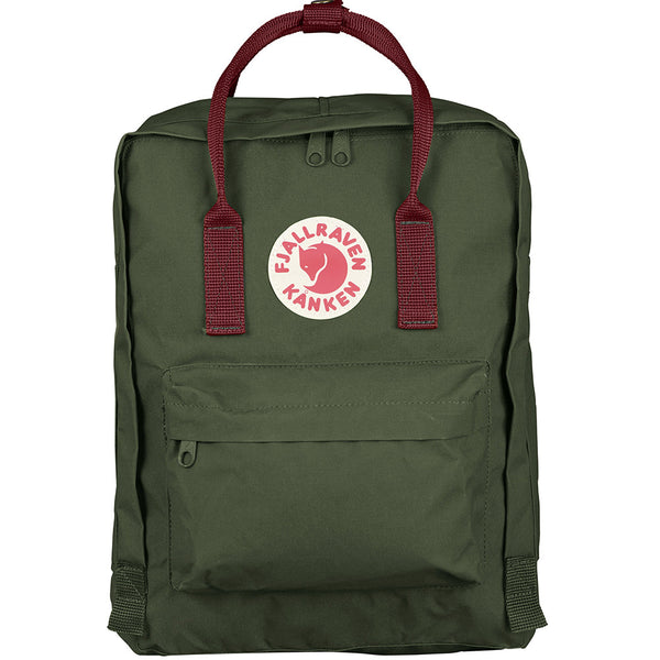 Kånken Classic Backpack - Forest Green & Ox Red