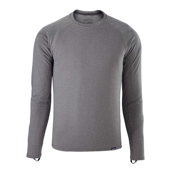 M's Capilene Midweight Crew - Forge Grey