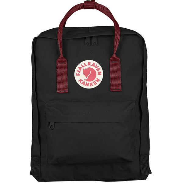 Kånken Classic Backpack - Black & Ox Red