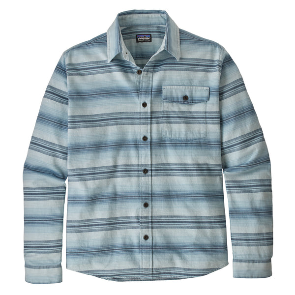 M's Lightweight Fjord Flannel Shirt - Rotation: Big Sky Blue