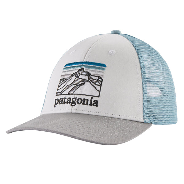 Line Logo Ridge LoPro Trucker Hat - White