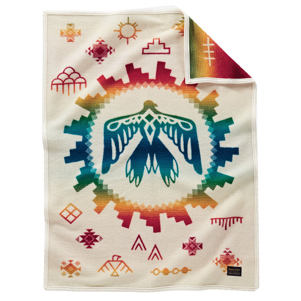Muchacho Blanket - Sunrise Eagle Ivory