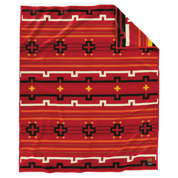 Preservation Series Blanket Robe - Red
