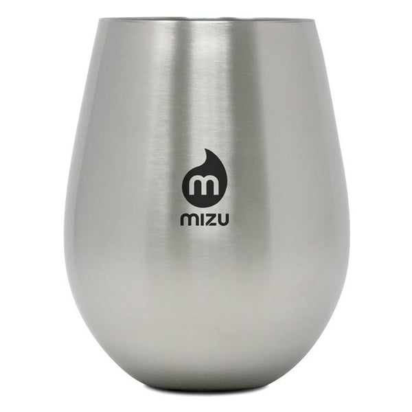 Wine Cup - Stainless w/Black