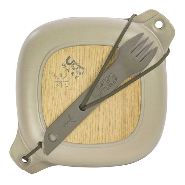 Five Piece Mess Kit - Bamboo - Sandstone