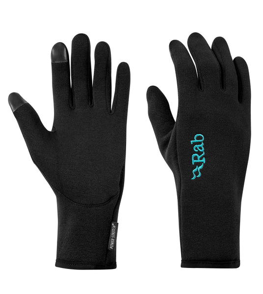 Power Stretch Pro Contact Women's Glove - Black