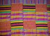Handwoven Kente from Bonwire, Ghana
