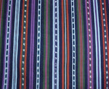 Handwoven fabric from Solola, Guatemala
