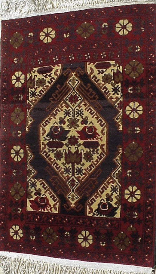 Fair Trade Afghan Beshir  Rug