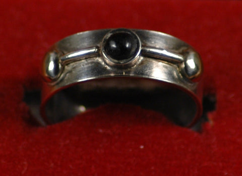 Fair Trade Chilean Obisidian Ring