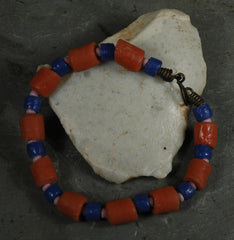 Fair Trade Ghanaian Recycled Glass Bead Bracelet