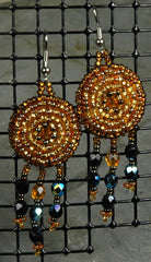 Fair Trade Guatemalan Beaded Earrings