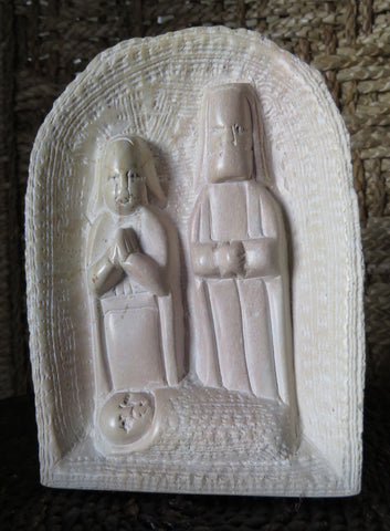 Fair Trade Kenyan Soapstone Holy Family