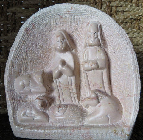 Fair Trade Kenyan Soapstone Nativity