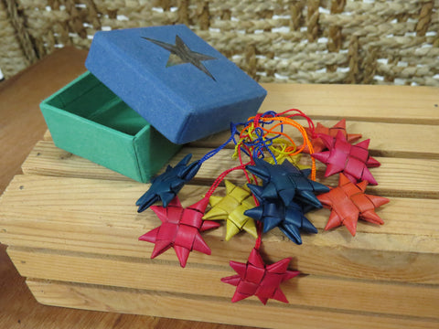 Fair Trade Bengali Star Ornaments