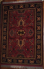 Fair Trade Afghan Khal Mamdi Rug