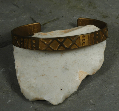 Fair Trade Chilean Brass Bracelet