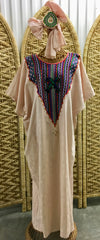 Ghanaian Caftan with Headscarf