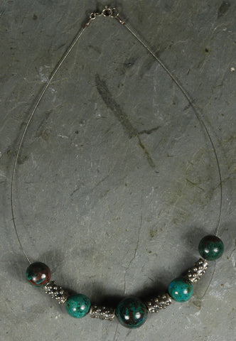 Fair Trade Peruvian Turquoise Necklace