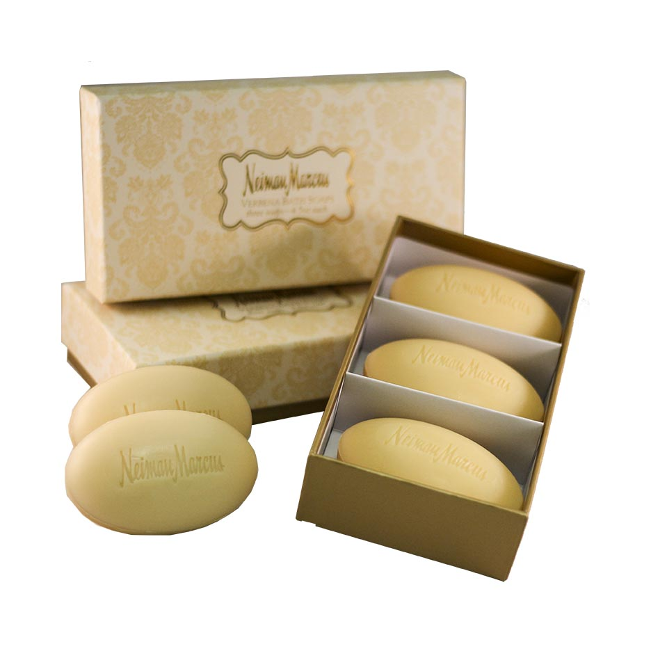 Milled Verbena Soaps in Box
