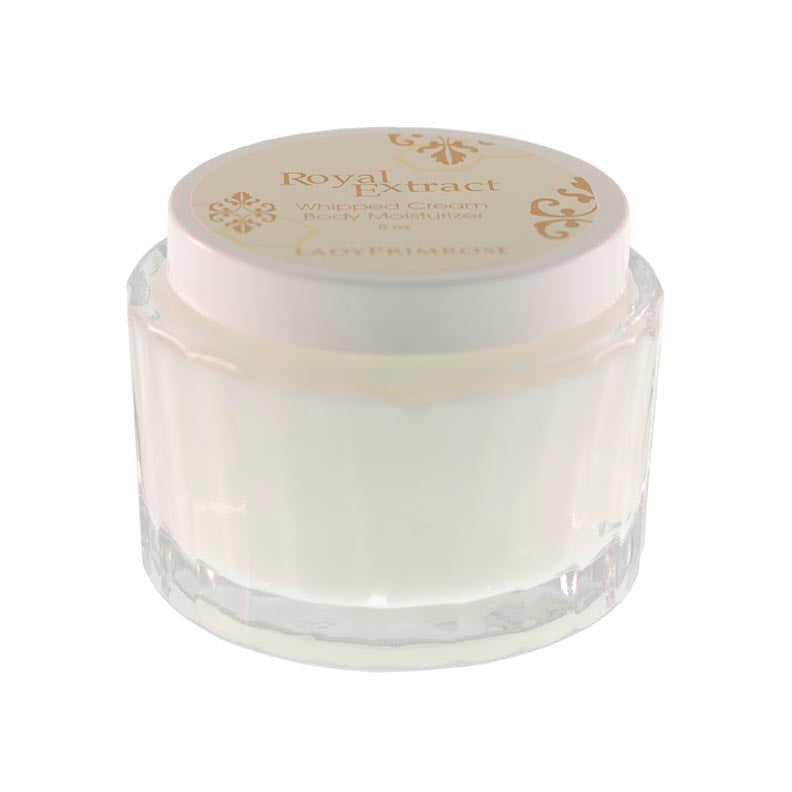 Royal Extract Whipped Cream Body Moisturizer in Jar