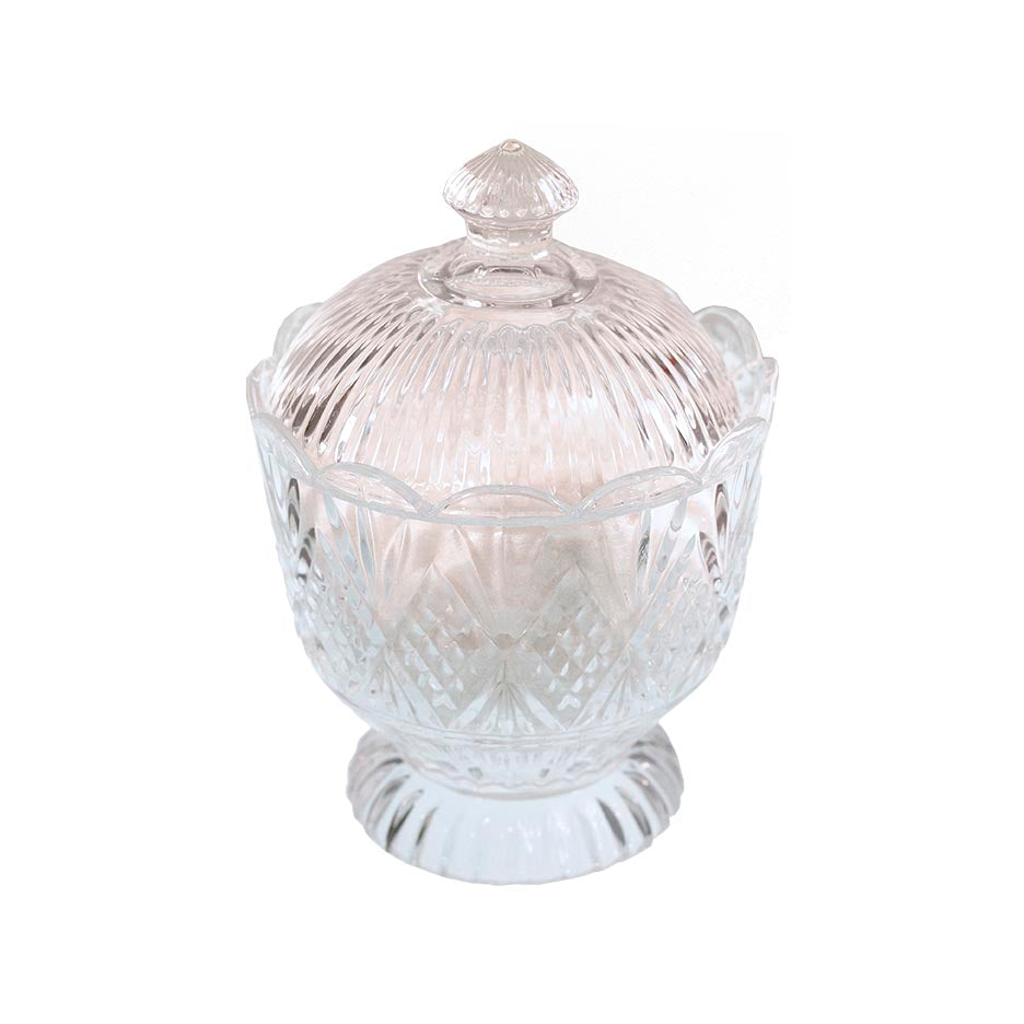 Windsor Crystal Urn with Tryst Bath Salts