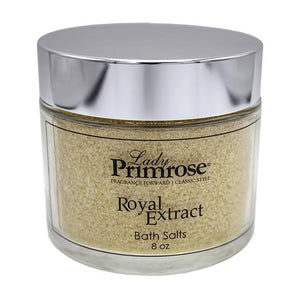 Royal Extract Bath Salts Jar