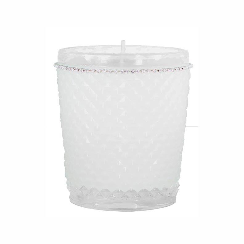 Tryst Candle in Diamond Cut Glass