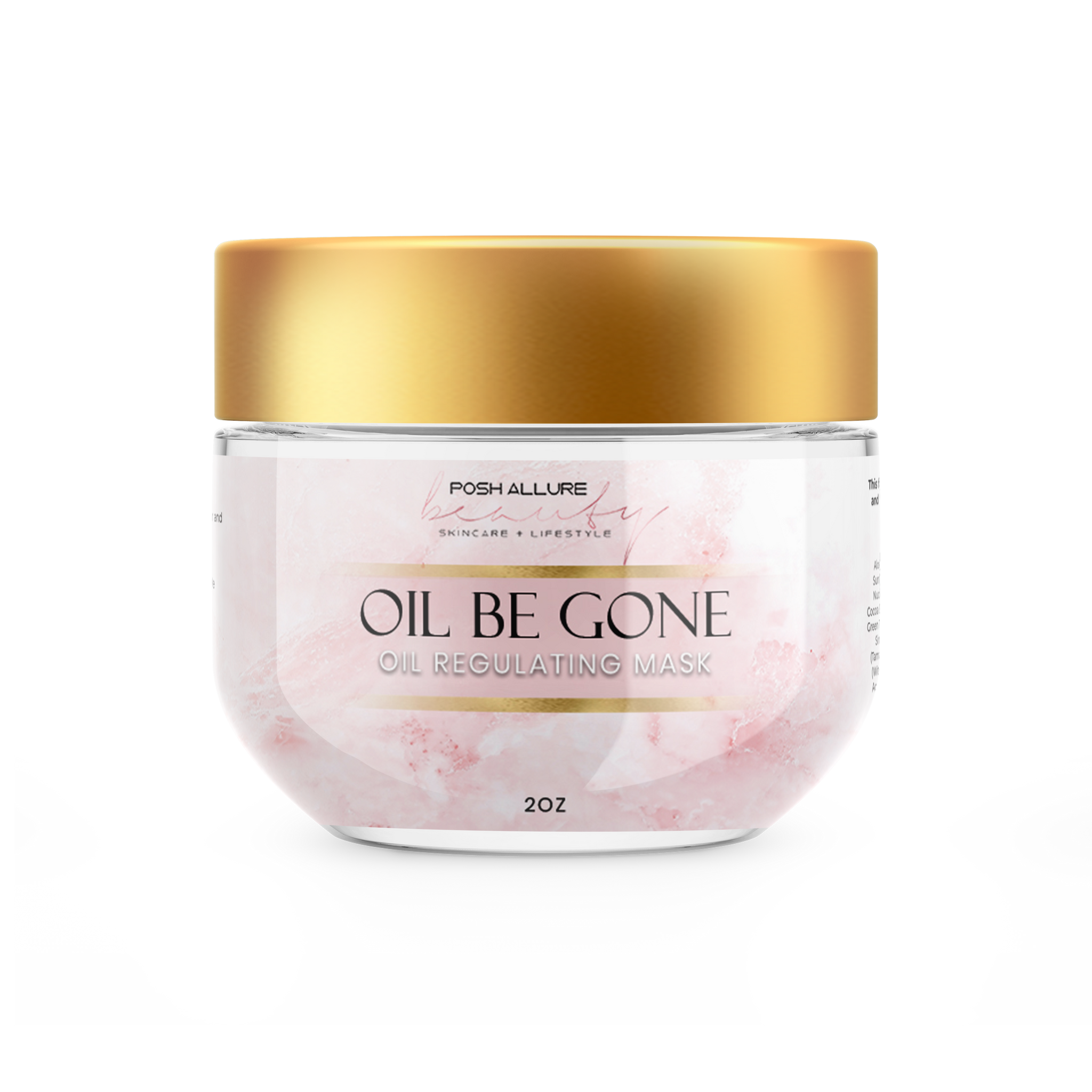 Oil Be Gone Oil Regulating Mask - Posh|Allure Beauty