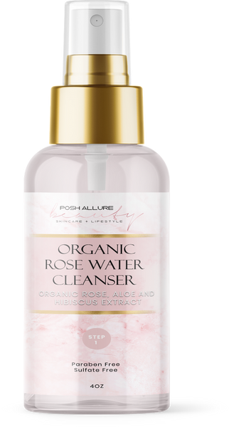 Organic Rose Facial Cleanser - Posh|Allure Beauty