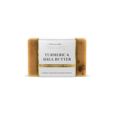 Turmeric & Shea Soap - Posh|Allure Beauty