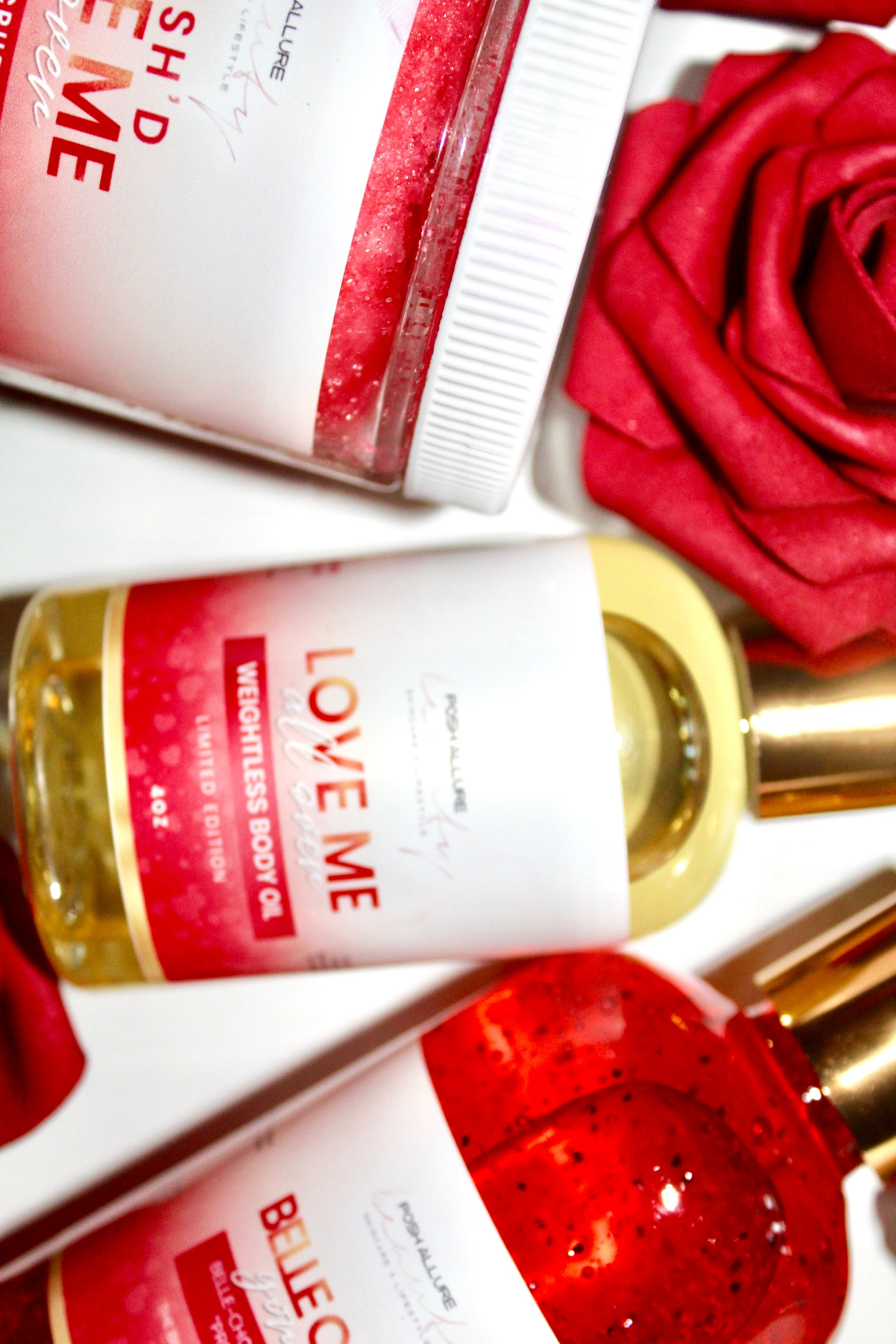 Love Me All Over Body Oil - Posh|Allure Beauty