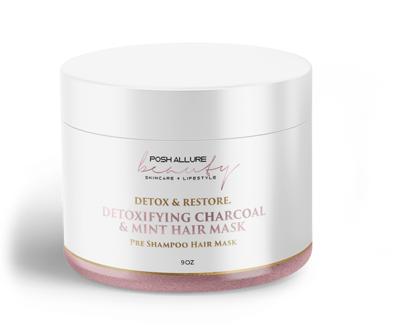 Detoxifying Charcoal & Mink Clay Mask - Posh|Allure Beauty