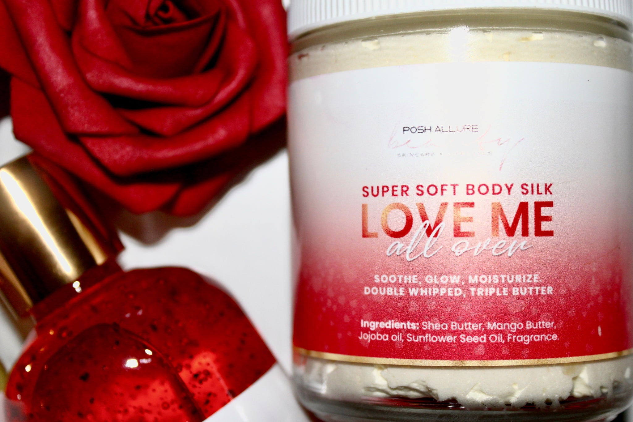 Super Soft Body Silk VDAY LE - Posh|Allure Beauty