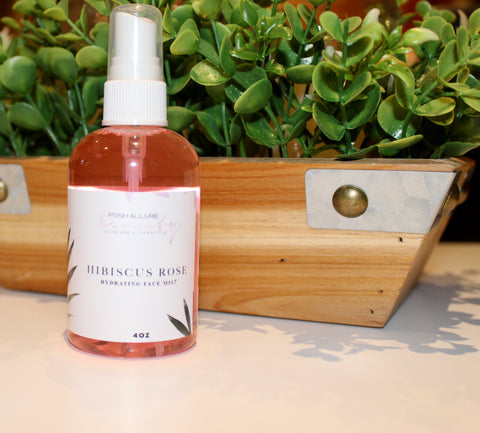 Hibiscus Rose Hydrating Mist - Posh|Allure Beauty
