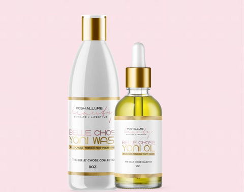 BELLE' CHOSE Wash + Oil Bundle - Posh|Allure Beauty