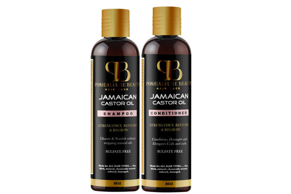Jamaican Castor Oil Duo - Posh|Allure Beauty