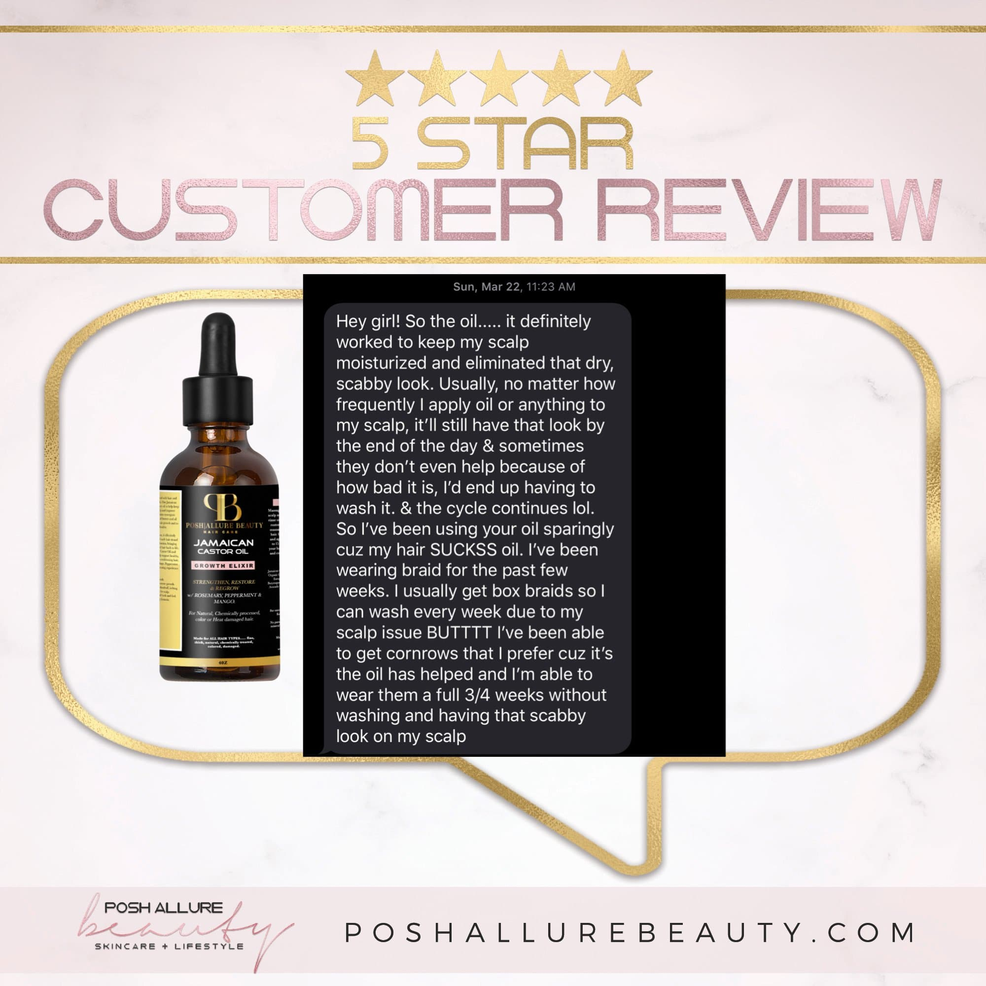 Jamaican Castor Oil Growth Elixir - Posh|Allure Beauty