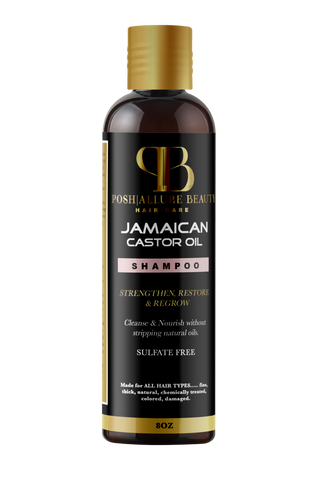 Jamaican Castor Shampoo - Posh|Allure Beauty