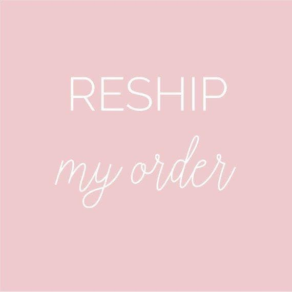 ORDER RESHIP + HANDLING - Posh|Allure Beauty